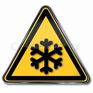 Kühlschrank Für Kalte Räume : gefahrensymbol warnung vor k lte vektorgrafik colourbox ~ Michelbontemps.com Haus und Dekorationen