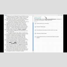 Grockit Gmat Verbal  Reading Comprehension Question 4497 Youtube
