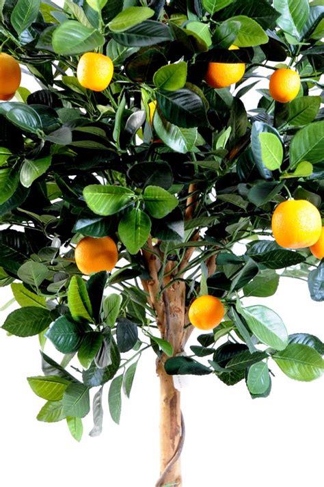 arbre artificiel fruitier oranger t 234 te en pot int 233 rieur