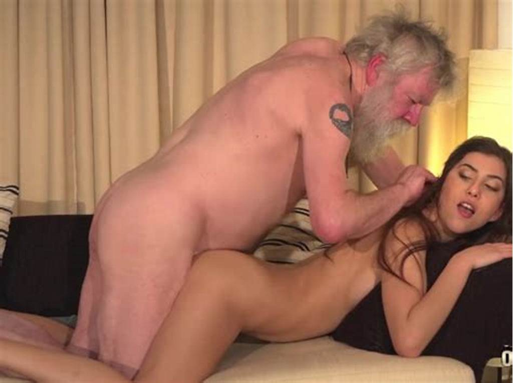 #White #Hair #Old #Man #Fucks #Teen #Pussy #So #Tight #And #Young