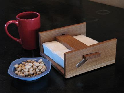napkin holder gift woodworking plans
