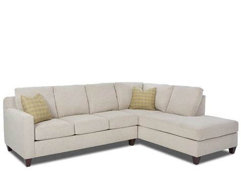 Klaussner Bosco Contemporary 2-piece Sectional With Right