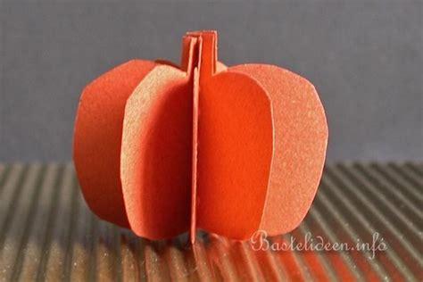 halloween bastelideen   kuerbis aus tonkarton