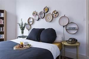 Fabriquer Une Tête De Lit : t te de lit fabriquer une t te de lit avec des tamis ~ Dode.kayakingforconservation.com Idées de Décoration