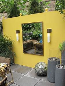 10, Yellow, Garden, Ideas, Walls, Furniture, Or, Plants