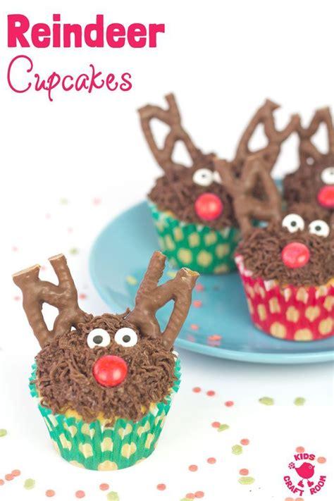 easy christmas food crafts n tasty reindeer cupcakes easy recipes