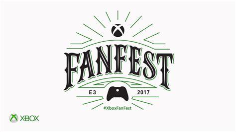 fan fest tickets 2017 microsoft announces xbox e3 2017 fanfest exclusive early