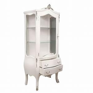 Meuble Baroque Pas Cher : vitrine baroque blanche meuble baroque ~ Farleysfitness.com Idées de Décoration