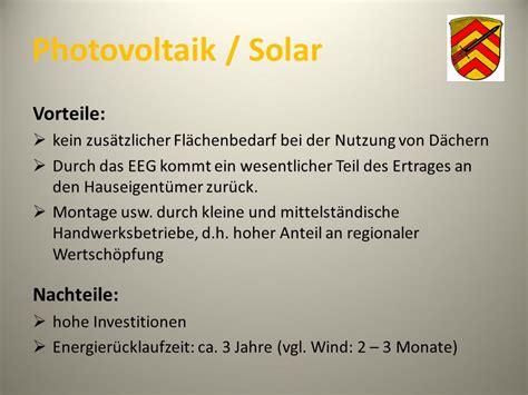 Solarthermie Vor Und Nachteile by Vor Und Nachteile Solarthermie Wohn Design