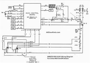 Amsco 900 Wiring Diagram  With On  Off Switch