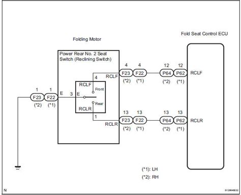 Okin Recliner Wiring Diagram by Toyota Service Manual Rear Power Seat Switch
