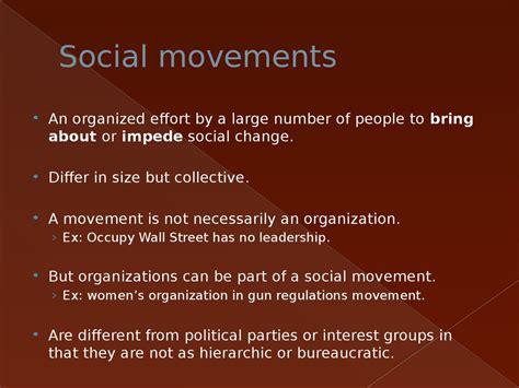 introduction  comparative politics social movements