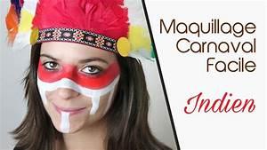 Maquillage Enfant Facile : maquillage carnaval facile indien youtube ~ Melissatoandfro.com Idées de Décoration