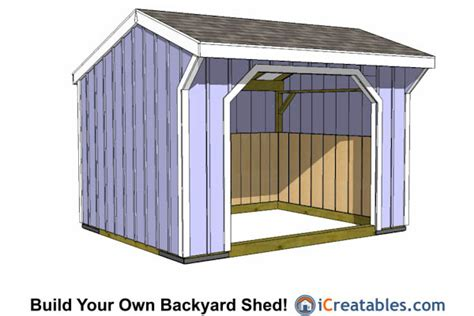 Garden Shed Plans 12x12 by 12x12 Shed Plans Build Your Own Storage Lean To Or