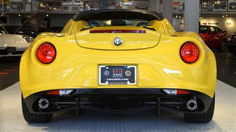 2015 Alfa Romeo 4c For Sale by Used 2015 Alfa Romeo 4c Spider For Sale 45 700 Cars