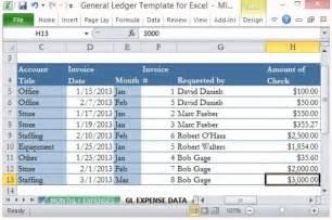 Ledger Template Excel 12 Excel General Ledger Templates Excel Templates