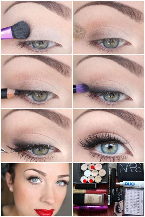 step  step makeup ideas  blue eyes fashionsycom