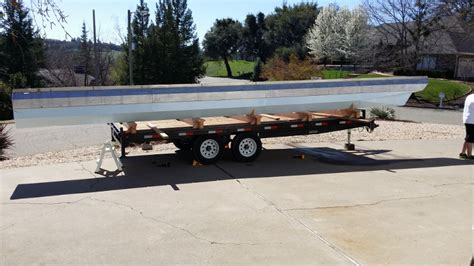 Convert A Boat Trailer To Pontoon Trailer by 1969 House Boat To Pontoon Conversion Pontoon Forum