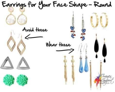 choosing earrings  suit   face shape