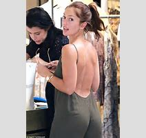Minka Kelly Shows Some Skin In A Backless Olive Green