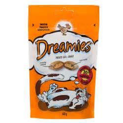 cat treats b m dreamies cat treats chicken 60g 263499 b m