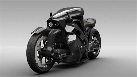 The Ostoure Super-naked Motorcycle