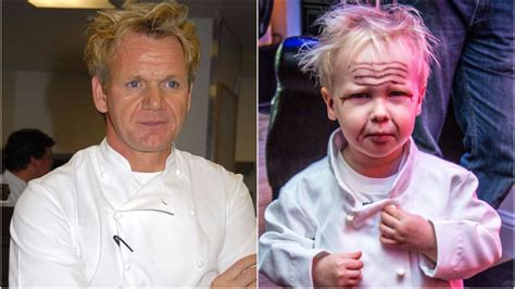 gordon ramsay as a kid kids have been dressing as gordon ramsay for halloween and
