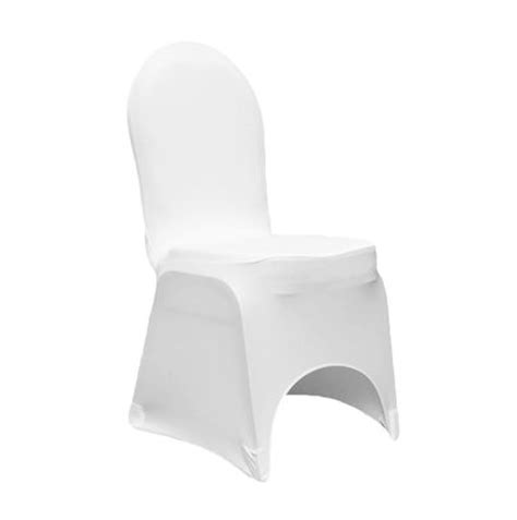 white spandex hotel chair cover time rentals