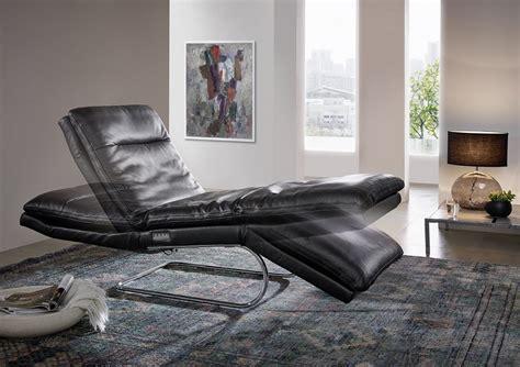 chaises en cuir chaise longue relax absolute en cuir