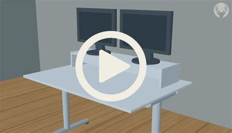 Balkongeländer Tisch Ikea by Aus Eins Mach Zwei Der Perfekte Monitorst 228 Nder F 252 R
