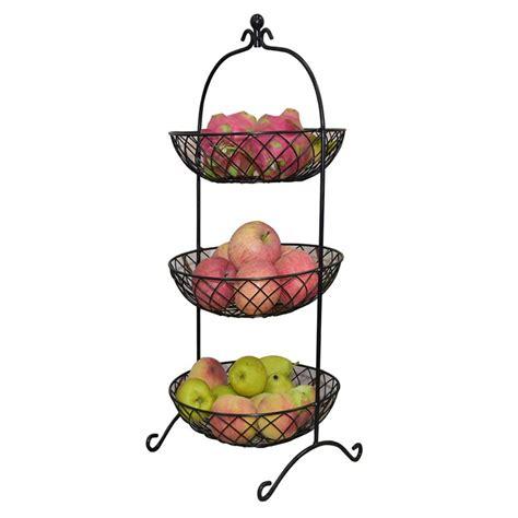 buy iron art  layers  fruit basket fruit holder  tier kitchen multi layer