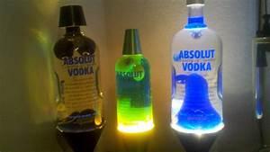 Absolut Custom Lava Lamp Trio