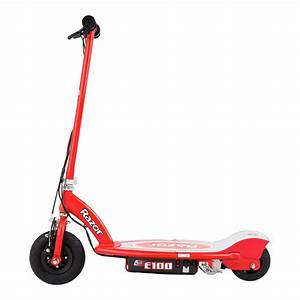 Razor® 13111260 - E100 Red Electric Scooter