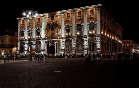 Illuminazione Catania Esempio Di Illuminazione Piazza Duomo Catania I