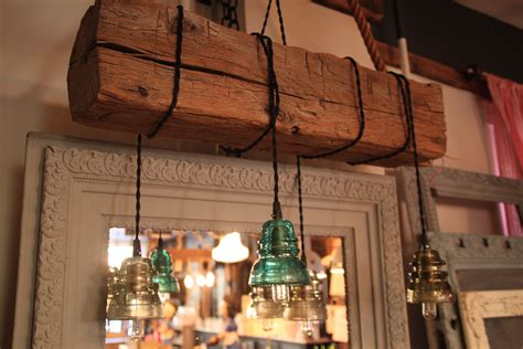 buy  custom  reclaimed wood beam chandelier