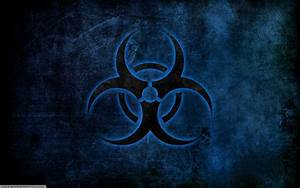 Blue Biohazard Symbol Wallpapers HD / Desktop and Mobile ...