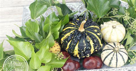 Herbstliche Dekoideen Für Den Garten  White And Vintage