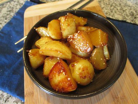 potato side dish recipes gamja jo rim potato side dish korea in my kitchen