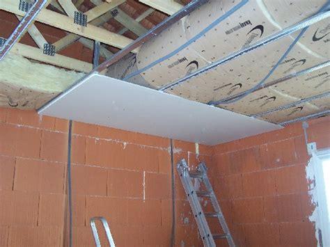 faux plafond ba13 et cloisonnement