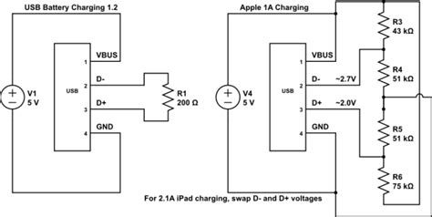 Usb Wiring Diagram 5v by Usb 5v Lots Of S Wall Chargers Page 1