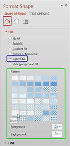 2013 Powerpoint Templates Add Pattern Fills To Shapes In Powerpoint 2013