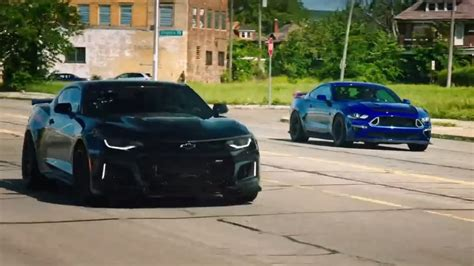 exorcist camaro zl crushes mustang   grand