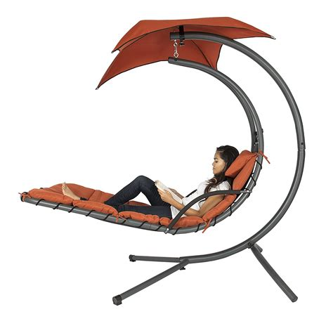 amazon hanging chaise lounger chair swing simplemost
