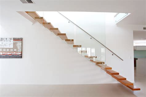 modern staircase railing designs cantilevered stairs floating staircase glass balustrades