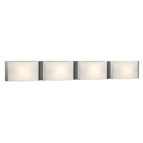 Halogen Bathroom Light Fixtures by Filament Design Negron 4 Light Chrome Halogen Bath Vanity