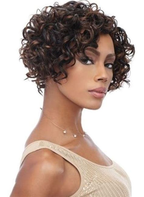 10 inch hair styles bob curly american front lace remy 2884