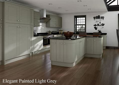 kitchens painted grey