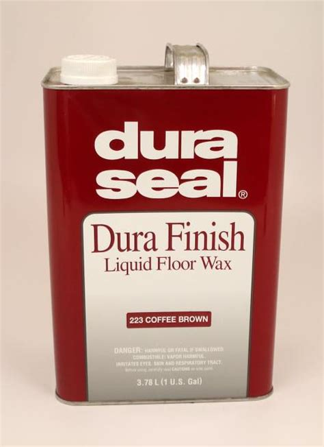 hardwood floors wax dura seal durafinish liquid wax for hardwood floors coffee brown gallon chicago hardwood flooring