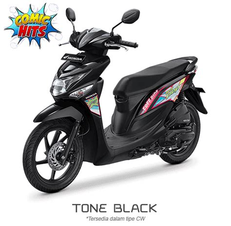 Honda Beat Pop Putih 2015 2016 pilihan warna honda beat pop 110 esp 2016 terbaru comic
