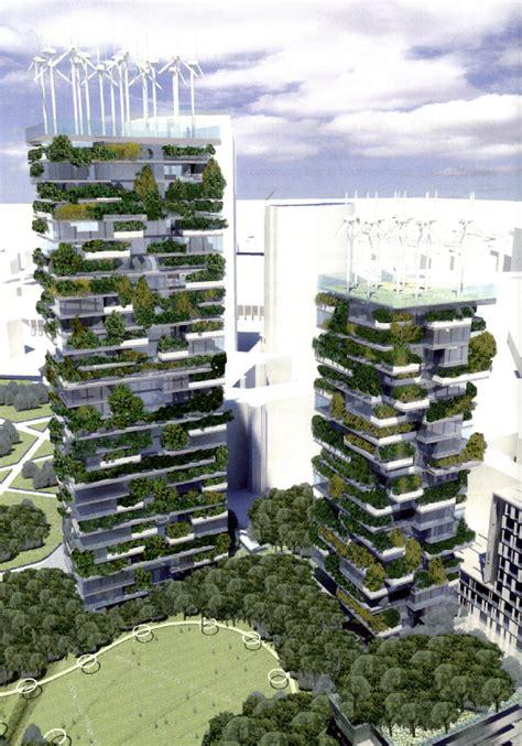 canape ecologique bosco verticale tour écologique par stefano boeri